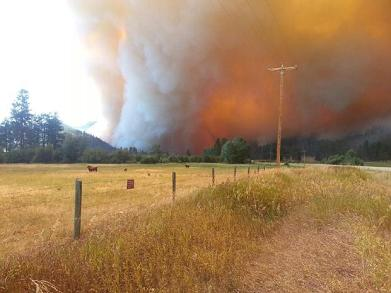 west fork fire growth