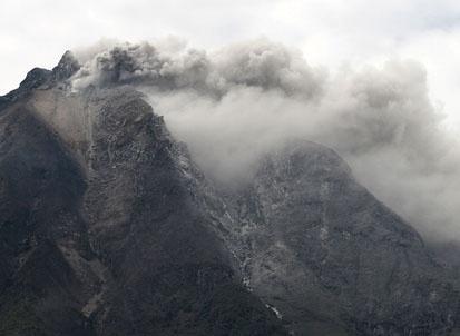 Mount Sinabung -ANTARA