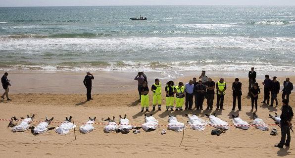 dead refugees