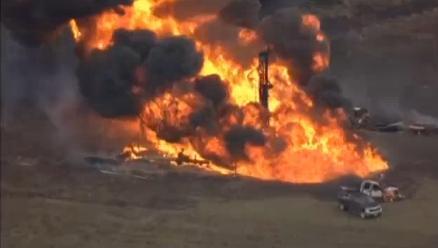 chevron gas pipeline exposion