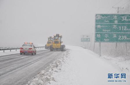 NE China Blizzard