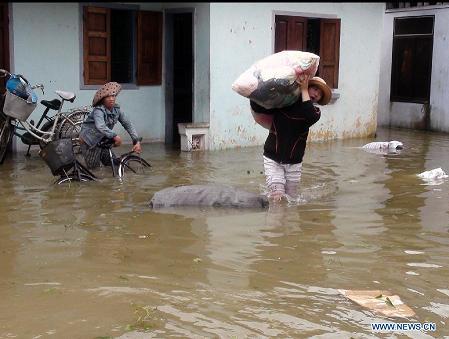 PODUL flooding in Vietnam