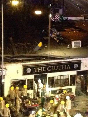 The Clutha pub chopper crash scotland