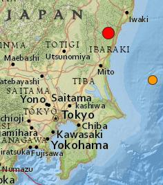 Japan quake 123113 location map