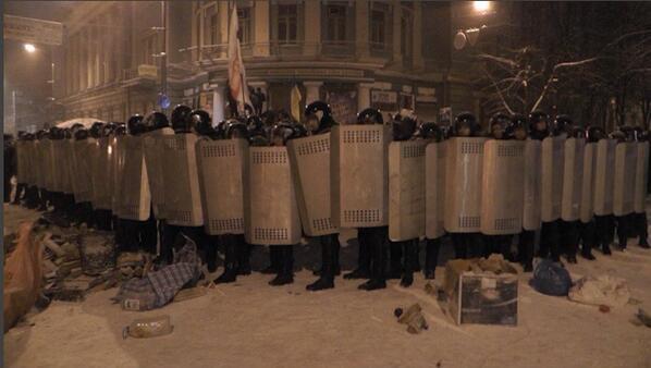 kiev protest - paulina leonovich