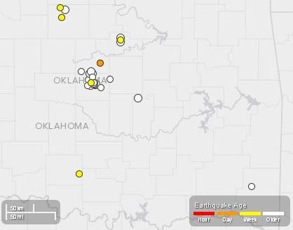 Oklahoma Quakes - Nov 2013
