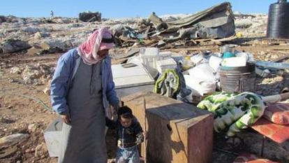 UNRWA- Israel demolish palestinian homes-s
