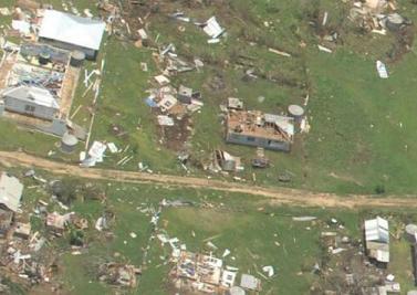 Cyclone IAN aftermath in Tonga
