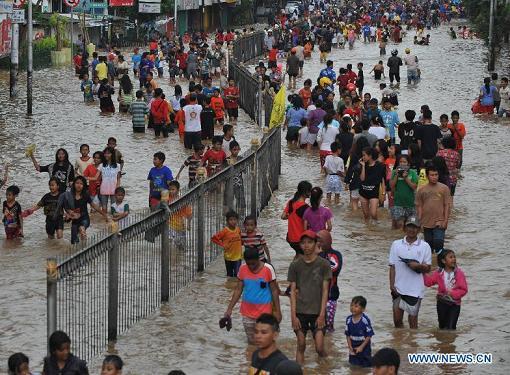jakarta flooding -xinhua