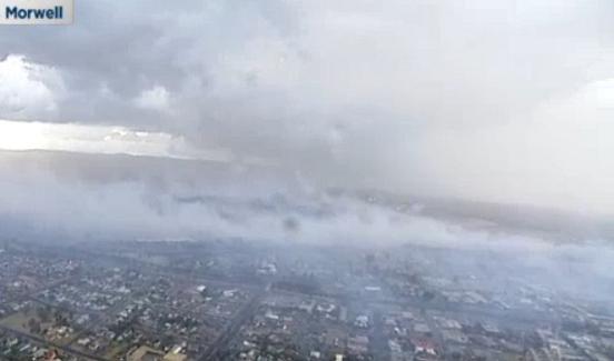 apocalyptic fumes and ash blanket morwell