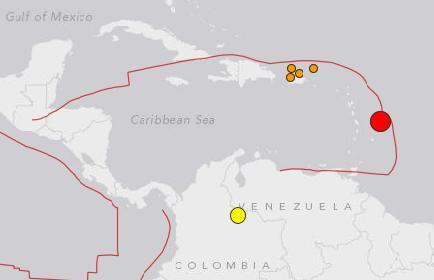 barbados quake