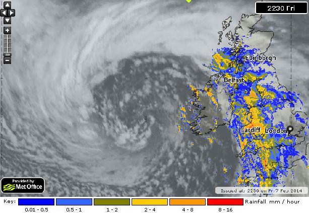 superstorm  IR-RAIN 22-30utc ukmet