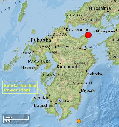 japan quake locmap 14mar2014 - Sendai NPP