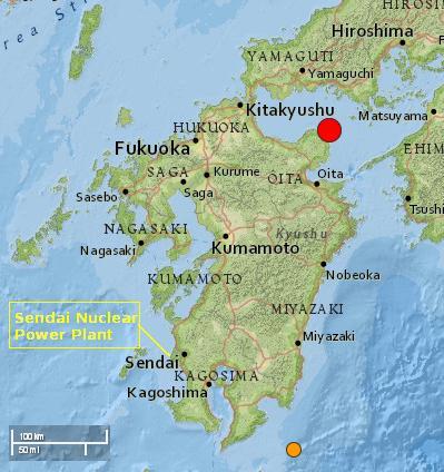 japan quake locmap 14mar2014 - Sendai NPP