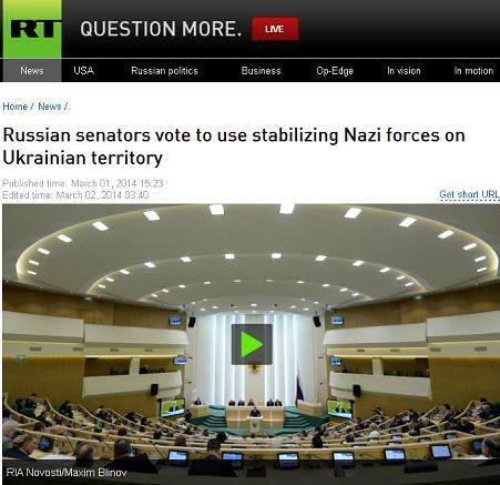 russian senate - rt