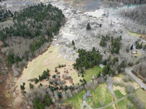 Landslide near Oso, Washington State
