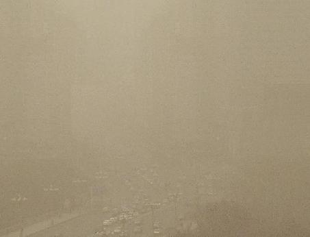 Xinjiang Uygur sandstorm 3apr14