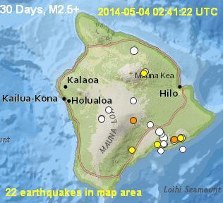 Big Island Earthquakes