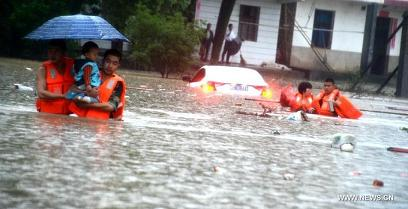 deadly floods in China-s
