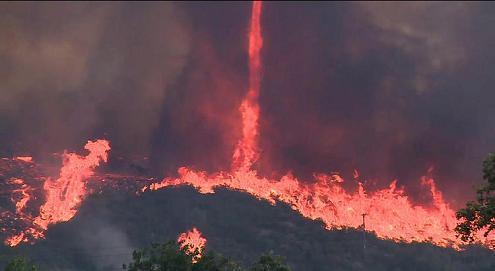 Fallbrook fire northern SDC