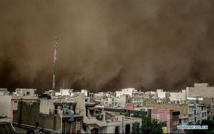 sandstorm - tehran-iran