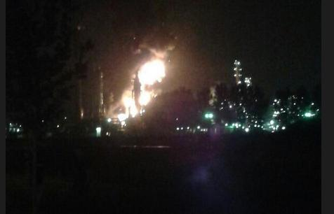 shell plant explosion