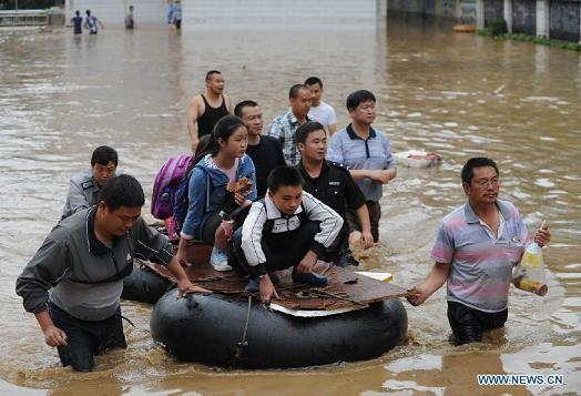 sw china flooding 3june2014
