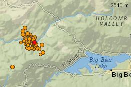 Big Bear quakes 6jul14