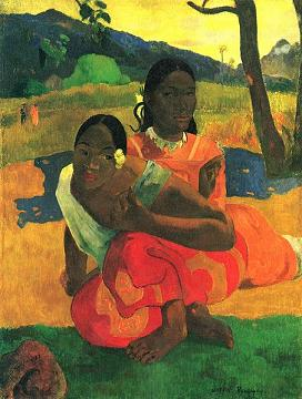 When will you marry- Gauguin 1892 - public domain in the US