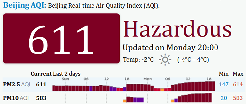 beijing smog 30Nov2015