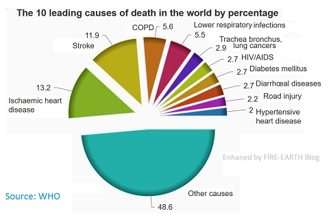 10 leading causes of death