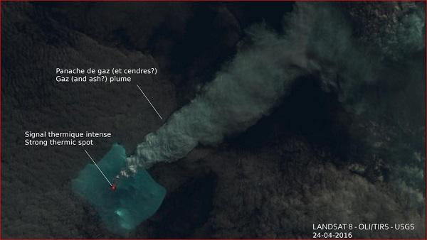 bristol island-volcano erupts in antarctica