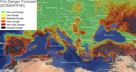 Map Of Fires In Spain 2017.Deadly Wildfires Continue To Ravage Southern Europe Fire Earth